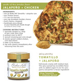 Tomatillo and Jalapeno Savory Spread