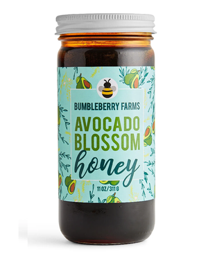 Avocado Blossom Honey by Bumbleberry Farms