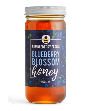 Blueberry Blossom Honey by Bumbleberry Farms