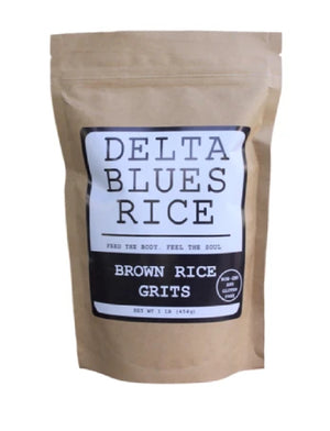 Brown Rice Grits by Delta Blues Rice