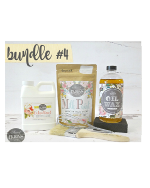 Bundle #4 Oil Wax Bundle by Milk Paint