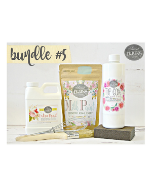 Bundle #5 Top Coat Bundle by Milk Paint