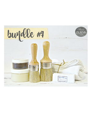 Bundle #7 Wax & Brush Bundle by Milk Paint