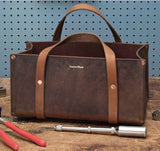 Portable Leather Tool Bag