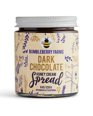 New Dark Chocolate Honey Cream by Bumbleberry Farms