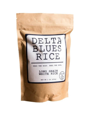 Long Grain White Rice by Delta Blues Rice