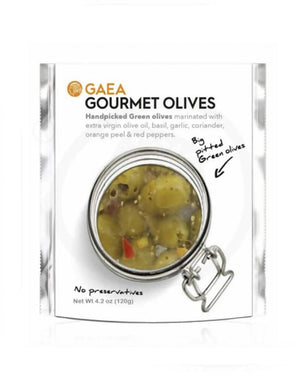 GOURMET PITTED OLIVES GAEA