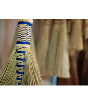 Hawk Tail Whisk Broom by BrenWood