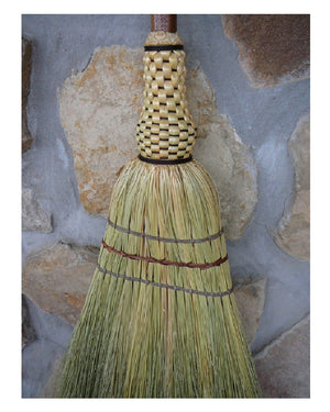 Kitchen Broom by BrenWood