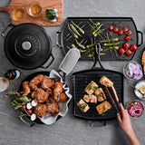 Lodge Blacklock Triple Seasoned Cast-Iron Double Burner Griddle