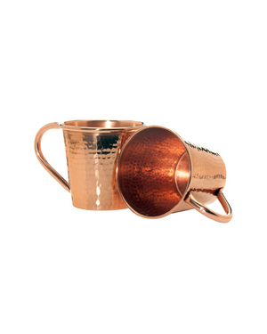 Moscow Mule Mug with Copper Handle by Sertodo Copper