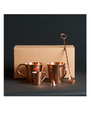 Moscow Mule Gift Set by Sertodo Copper