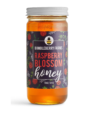 Raspberry Blossom Honey by Bumbleberry Farms