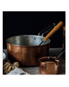 Copper Sauce Pot 2.5qt with Lid by Sertodo Copper
