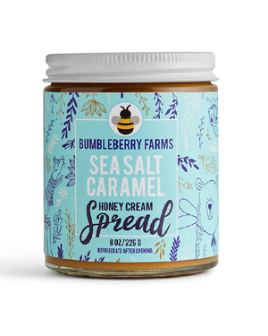 New Sea Salt Caramel Honey Cream by Bumbleberry Farms