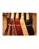 Shaker Flat Hearth Broom by Scheumack Broom