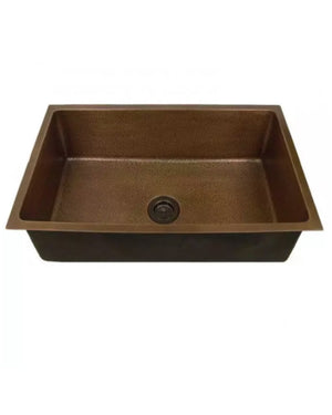 Hammered Copper Undermount Sink