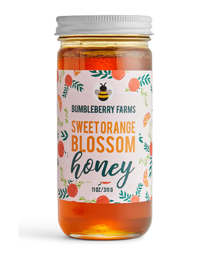 Sweet Orange Blossom Honey by Bumbleberry Farms