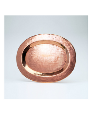 Thessaly Oval Platter by Sertodo Copper
