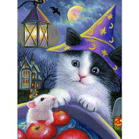 5D Diamond Painting cat Paint with Diamonds Art Crystal Craft Decor AH2050