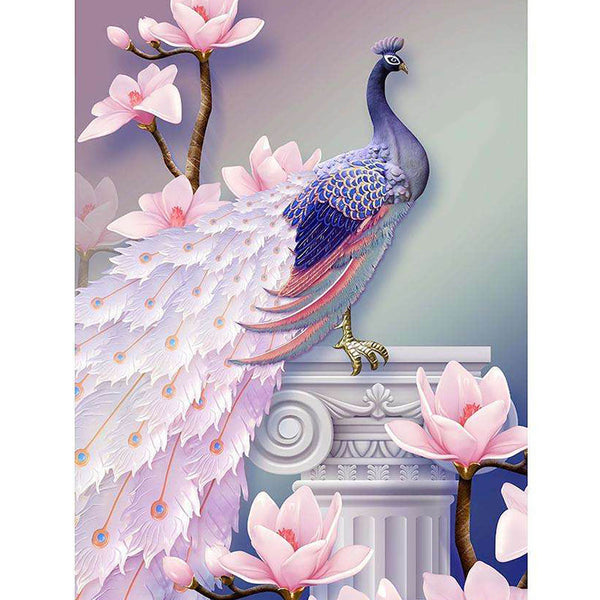 5D Diamond Painting peacock Paint with Diamonds Art Crystal Craft Decor AH1876
