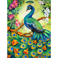 5D Diamond Painting peacock Paint with Diamonds Art Crystal Craft Decor AH1842