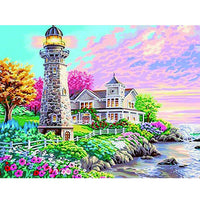 5D Diamond Painting landscape Paint with Diamonds Art Crystal Craft Decor AH1516
