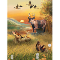 5D Diamond Painting deer Paint with Diamonds Art Crystal Craft Decor AH1945