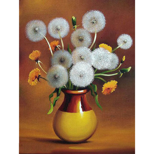 5D Diamond Painting flower Paint with Diamonds Art Crystal Craft Decor AH1655