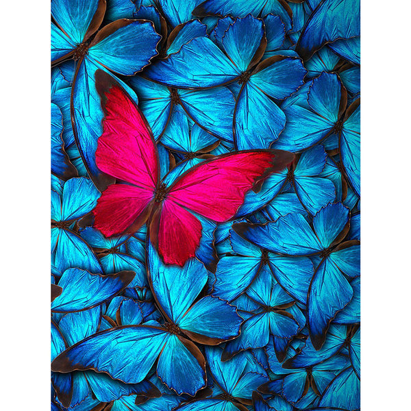 5D Diamond Painting butterfly Paint with Diamonds Art Crystal Craft Decor AH1697