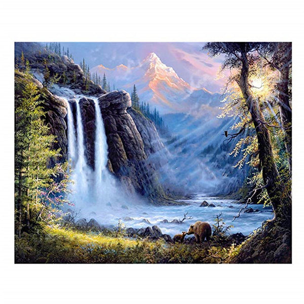 5D Diamond Painting landscape Paint with Diamonds Art Crystal Craft Decor AH1456