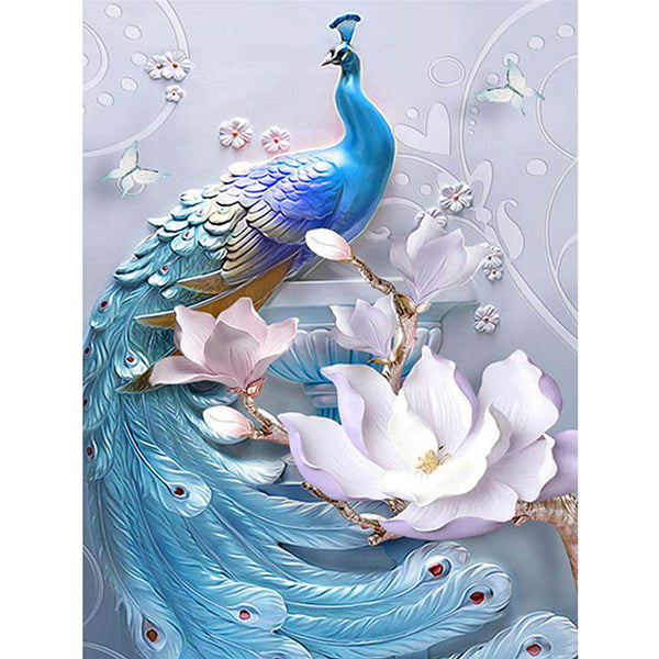 5D Diamond Painting peacock Paint with Diamonds Art Crystal Craft Decor AH1865