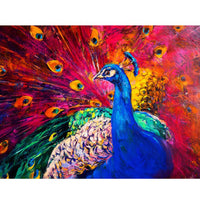 5D Diamond Painting peacock Paint with Diamonds Art Crystal Craft Decor AH1855