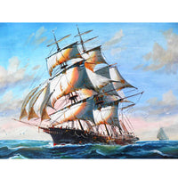 5D Diamond Painting boat sailing Paint with Diamonds Art Crystal Craft Decor AH1340