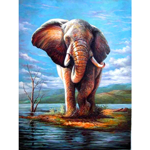 5D Diamond Painting elephant Paint with Diamonds Art Crystal Craft Decor AH1355
