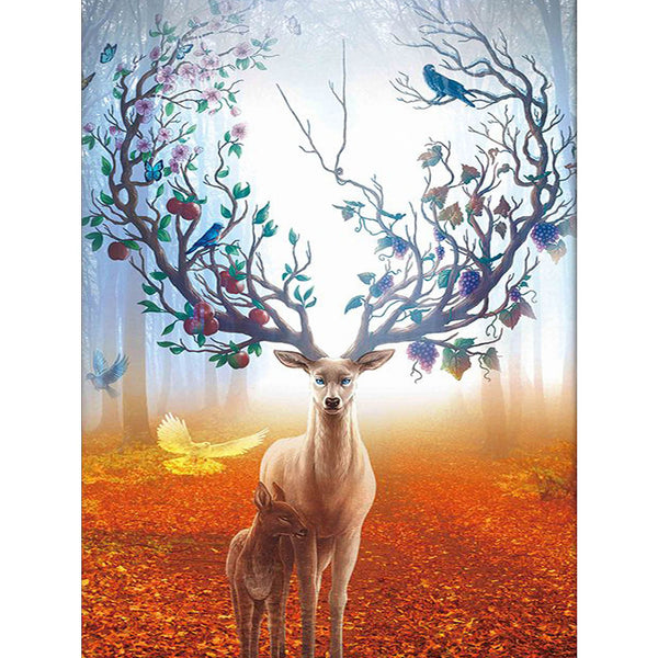 5D Diamond Painting deer Paint with Diamonds Art Crystal Craft Decor AH1964
