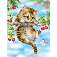 5D Diamond Painting cat Paint with Diamonds Art Crystal Craft Decor AH2023
