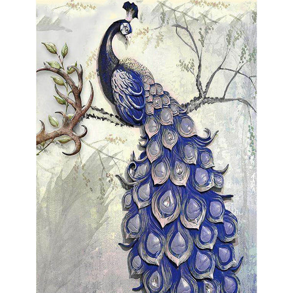 5D Diamond Painting peacock Paint with Diamonds Art Crystal Craft Decor AH1877