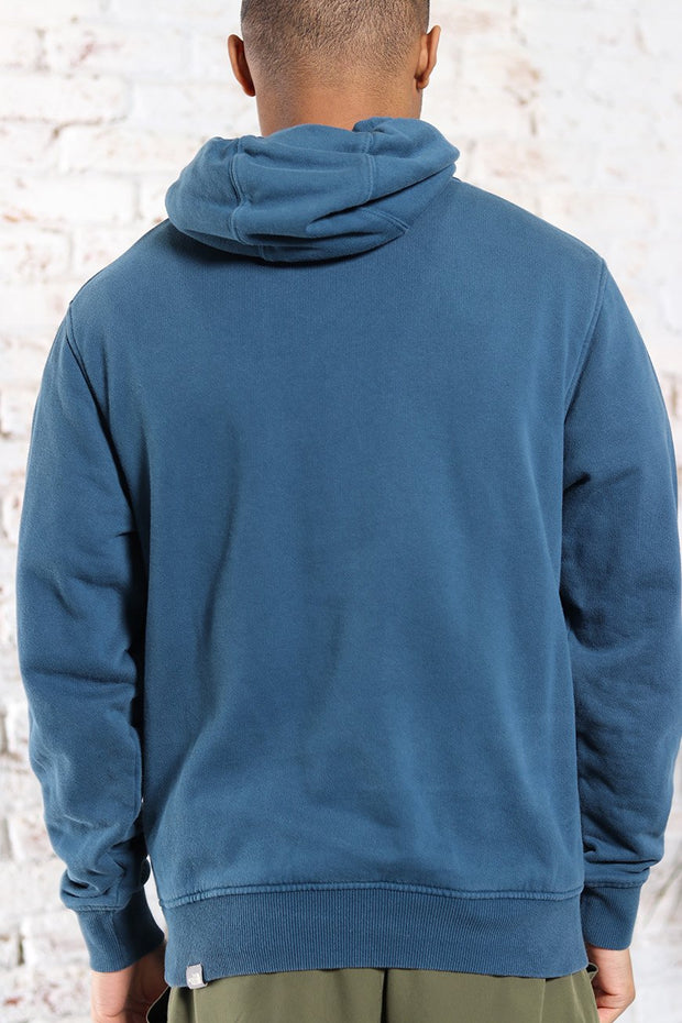 Vintage The North Face Embroidered Logo Sweatshirt Blue