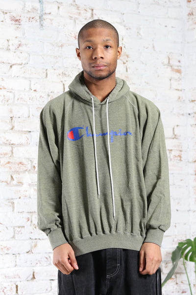 Vintage Champion Big Logo Sweatshirt Green