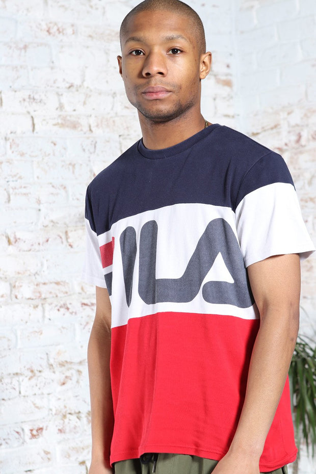 Vintage Fila Big Logo T-Shirt Red