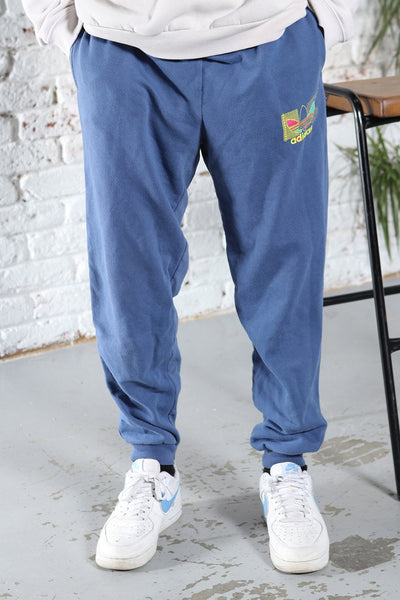Vintage Adidas Track Pants Trousers Blue
