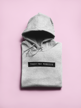 Load image into Gallery viewer, Grey 'Trust the Process' Hoodie