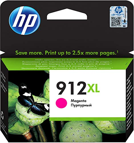 Original High Yield Ink Cartridge Compatible with Officejet Pro 8101/8020 Series, 9.9 ml, Magenta