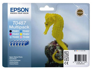 Epson Original T0487  Stylus Photo R200 R220 R300 R320 R330 R340 RX500 RX600 NEW