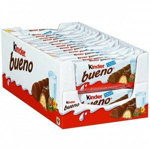 KINDER BUENO 2 BAR 30 24 18 12 6 PACKETS 43g CHOCOLATE IN DATE By Ferrero