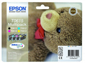 Epson Original T0615 Mehrfachpackung Tinte for D68 D88 DX4200 DX4800, DX4850 NEW