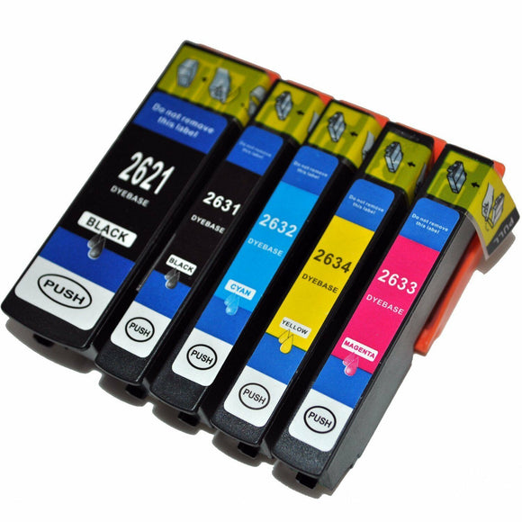 26XL Multipack Ink Cartridge Black Cyan Magenta Yellow Photo Non OEM For Epson
