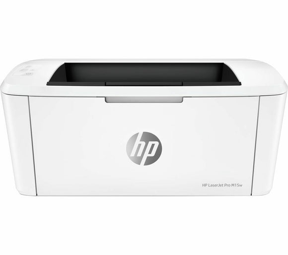 HP M15W White UK Seller Laser jet pro m15 w a small printer smartphone 44a toner