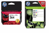 HP 364 5 Ink Cartridges Black Cyan Magenta Yellow Photo Black 5520 7520 D5468